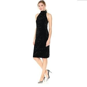 Lucca Couture crushed velvet dress NEW